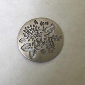 Origami Owl 2-Sided Flower Plate